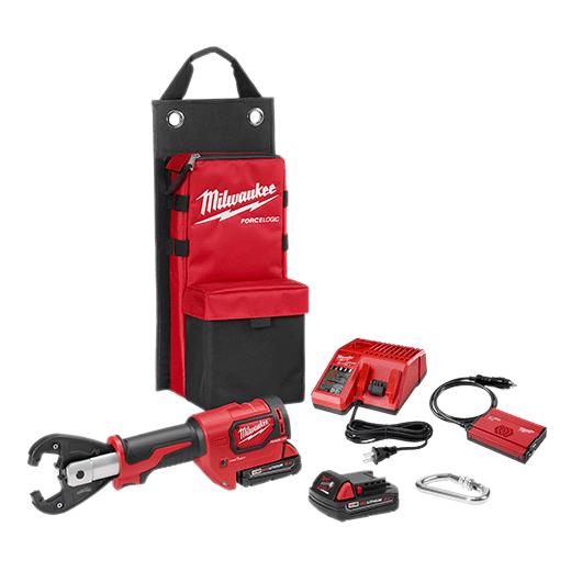 Milwaukee M18 FORCE LOGIC 6T UTILITY CRIMPER KIT WITH KEARNEY GROOVES