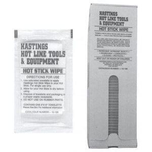 hot stick wipes