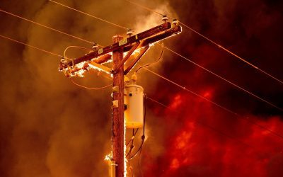 Lineman Safety during a Wildfire