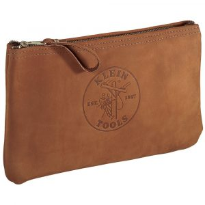 Klein leather tool pouch