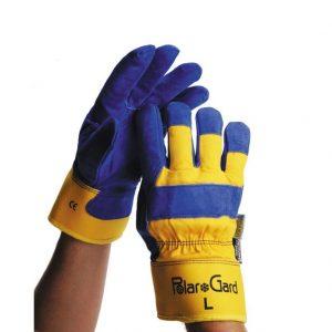 Saf-T-Gard Insulated Leather Glove